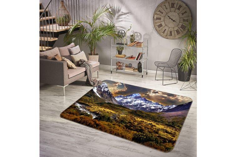 3D Mountains 35144 Non Slip Rug Mat
