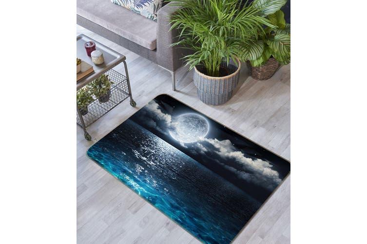 3D Surface Moon 35143 Non Slip Rug Mat