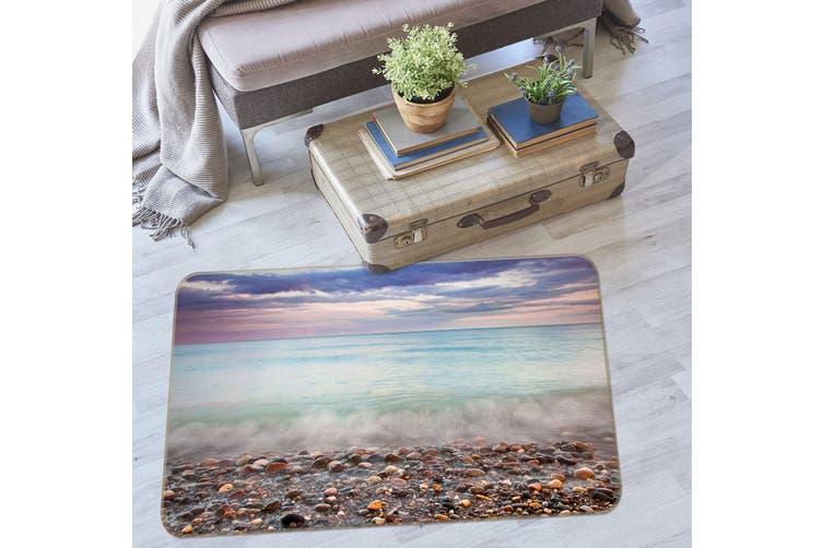 3D Seaside Stones 35140 Non Slip Rug Mat