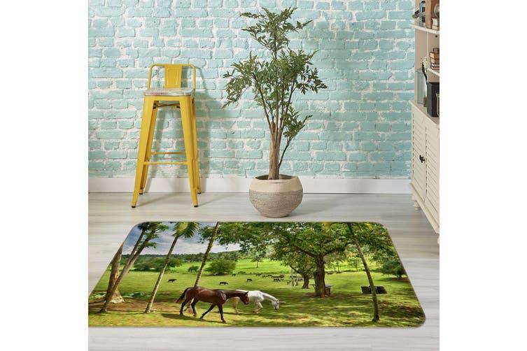 3D Tree Horse 35139 Non Slip Rug Mat