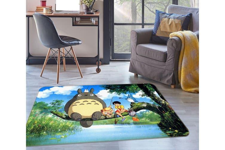 3D Totoro 35138 Non Slip Rug Mat