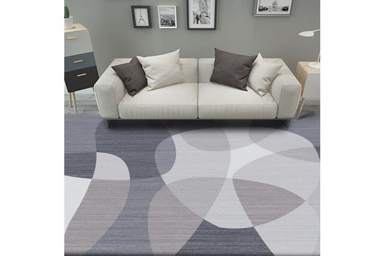 "3D Colored Circle WG076 Non Slip Rug Mat, 160cmx240cm (63""x94.5"")"