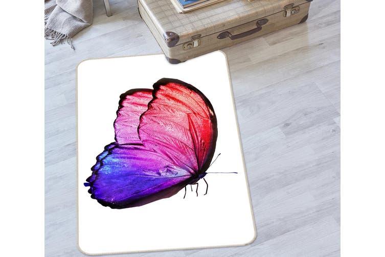 3D Butterfly 35120 Non Slip Rug Mat