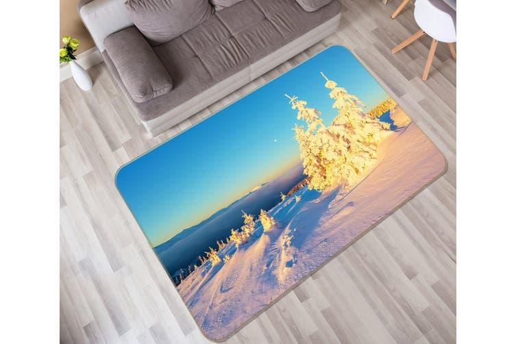 3D Snowfield 35112 Non Slip Rug Mat