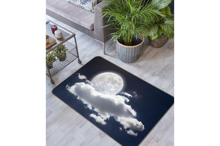 3D Moon Cloud 35111 Non Slip Rug Mat