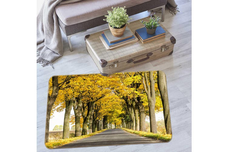 3D Tree Trail 35104 Non Slip Rug Mat