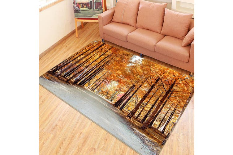 3D Forest The Way 35098 Non Slip Rug Mat
