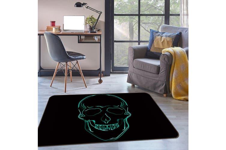 3D Skeleton Line 35084 Non Slip Rug Mat