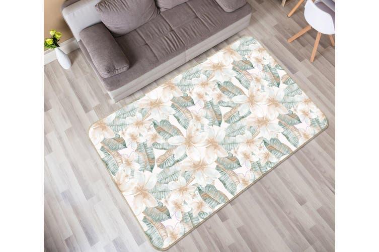 3D Leaves 35066 Non Slip Rug Mat