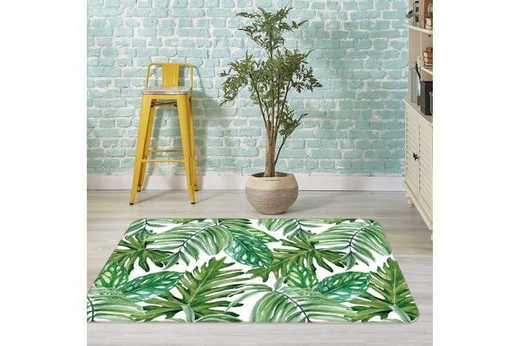 3D Leaves 35061 Non Slip Rug Mat