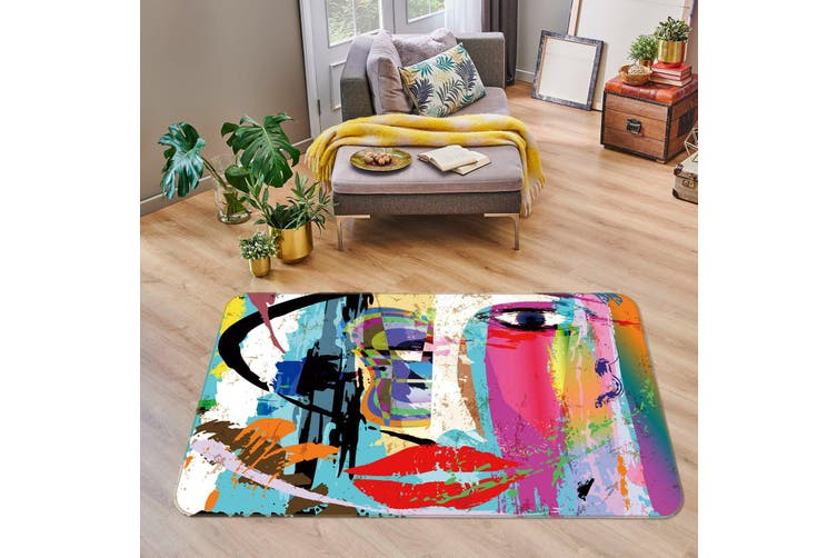 3D Color Pattern 35056 Non Slip Rug Mat