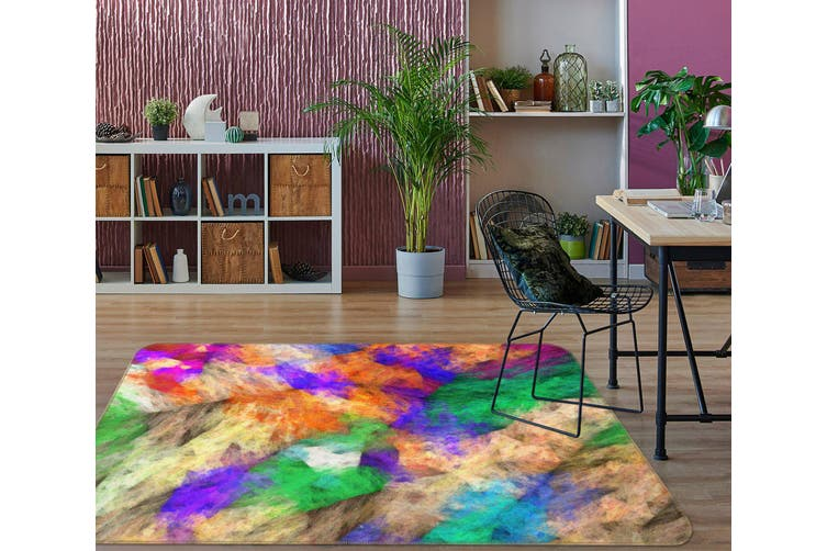 3D Color Pattern 35055 Non Slip Rug Mat