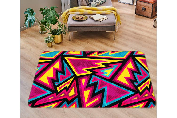 3D Pattern 35054 Non Slip Rug Mat