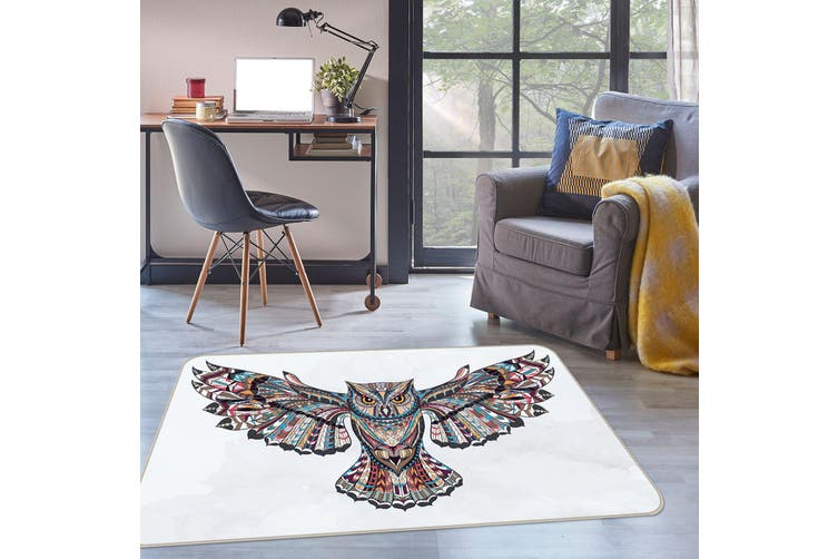 3D Owl 35045 Non Slip Rug Mat