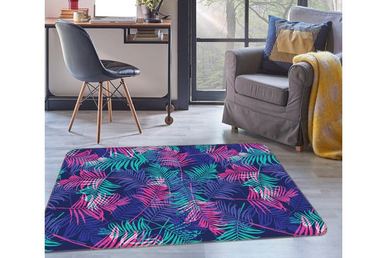 3D Leaves 35035 Non Slip Rug Mat