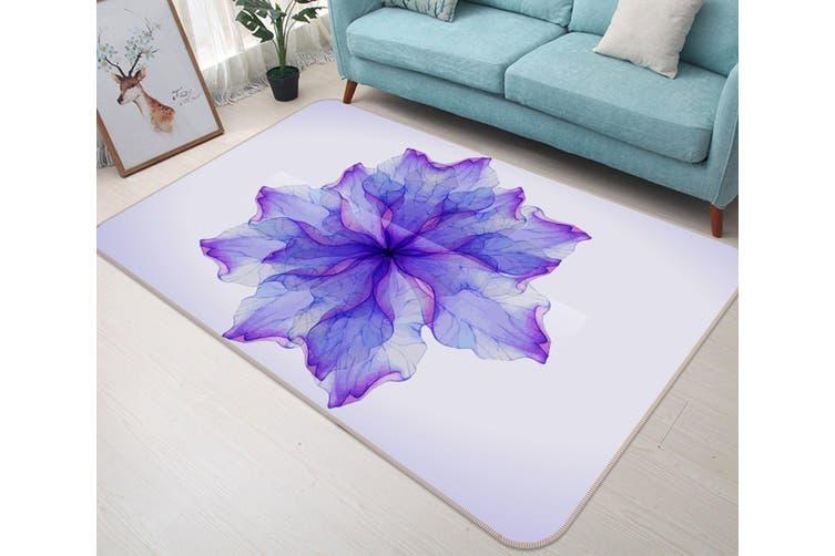 3D Flower 35034 Non Slip Rug Mat