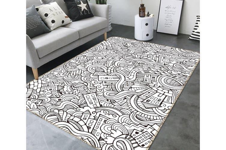 3D Pattern 35027 Non Slip Rug Mat