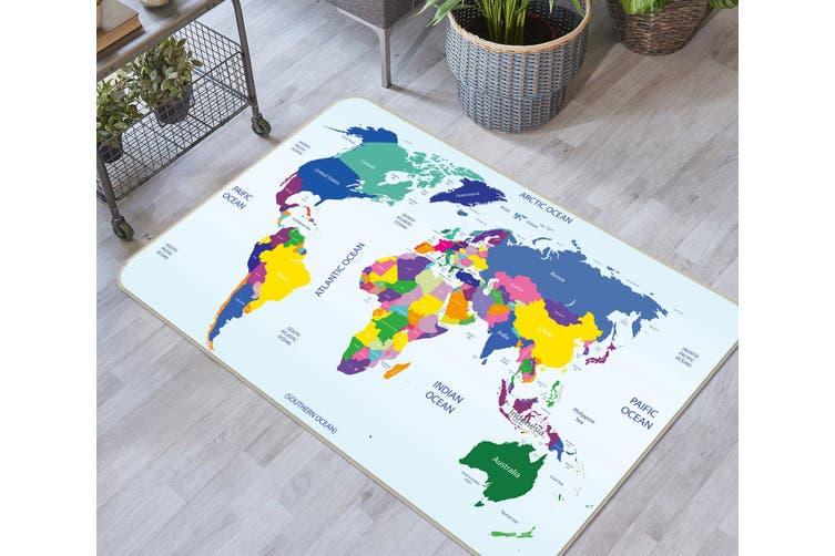 3D Map 35018 Non Slip Rug Mat