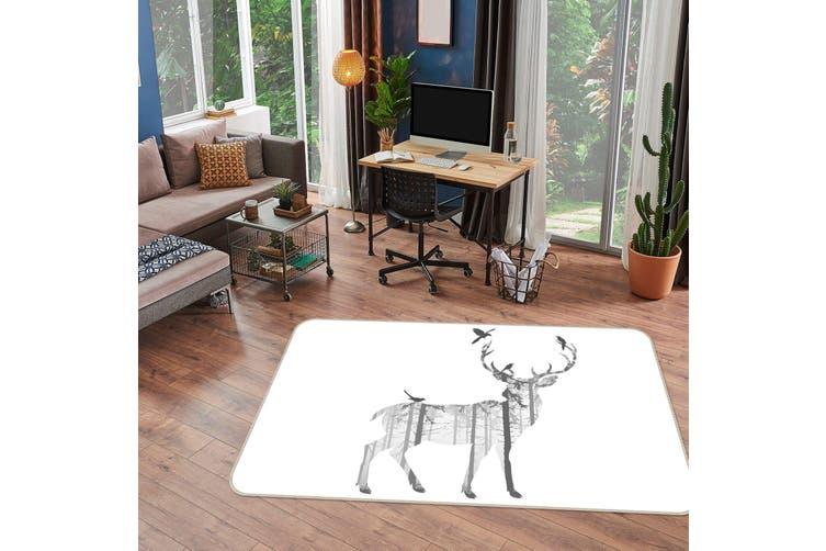 3D Deer 35015 Non Slip Rug Mat