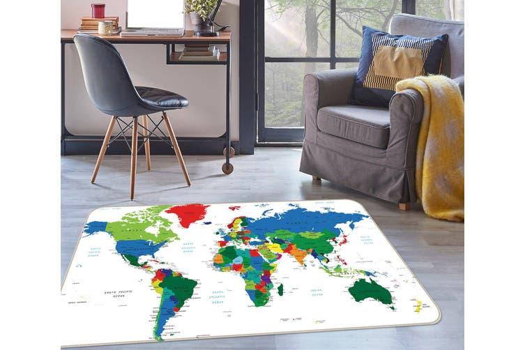 3D Map 35009 Non Slip Rug Mat
