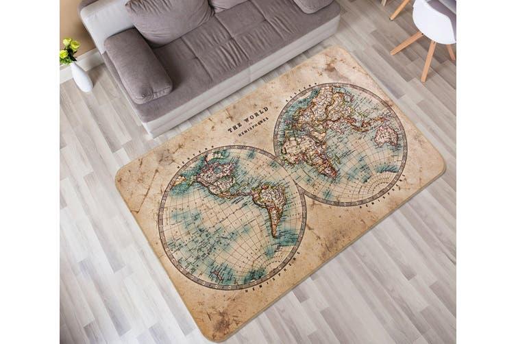 3D Map 35006 Non Slip Rug Mat