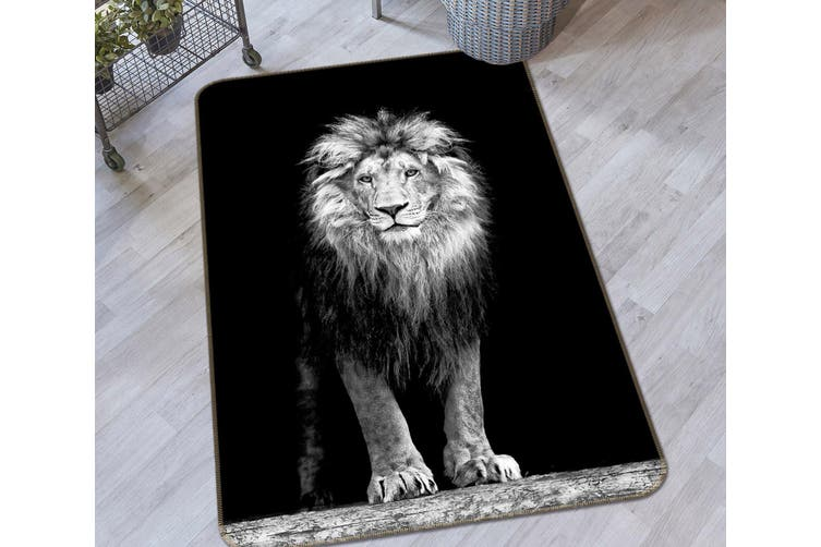 3D Lion 34223 Non Slip Rug Mat