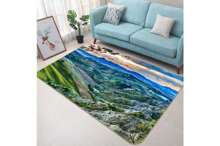 3D Mountains 34215 Non Slip Rug Mat