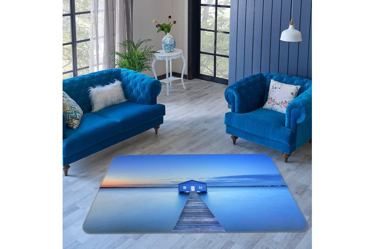 3D Bridge Gallery 34210 Non Slip Rug Mat