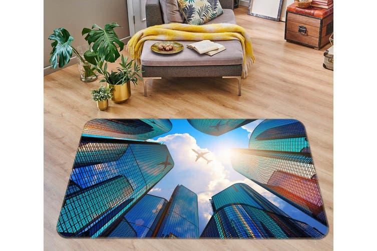 3D Tall Building 34209 Non Slip Rug Mat