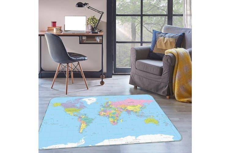 3D Map 34182 Non Slip Rug Mat