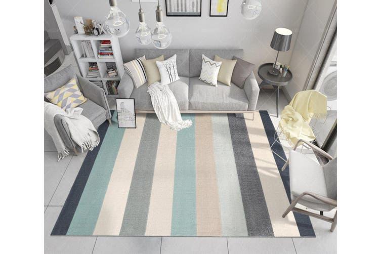 "3D Color Stripe WG038 Non Slip Rug Mat, 60cmx90cm (23.6""x35.4"")"