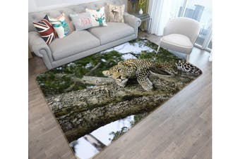 "3D Tiger Tree 603 Animal Non Slip Rug Mat, 40cmx60cm (15.7""x23.6"")"