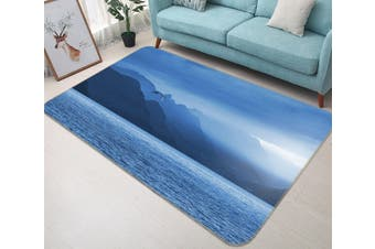 "3D Sea Surface Sunshine 605 Animal Non Slip Rug Mat, 160cmx240cm (63""x94.5"")"