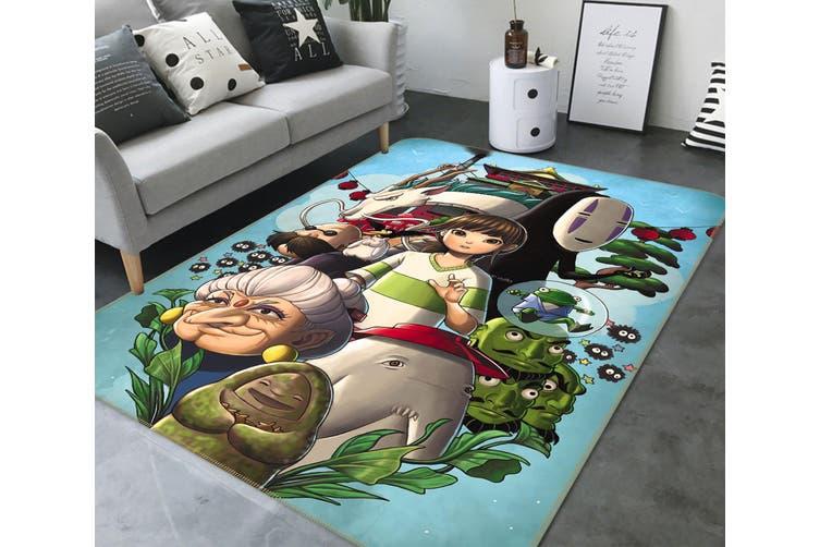 """3D Spirited Away 732 Anime Non Slip Rug Mat, 60cmx90cm (23.6""""x35.4"""")"""