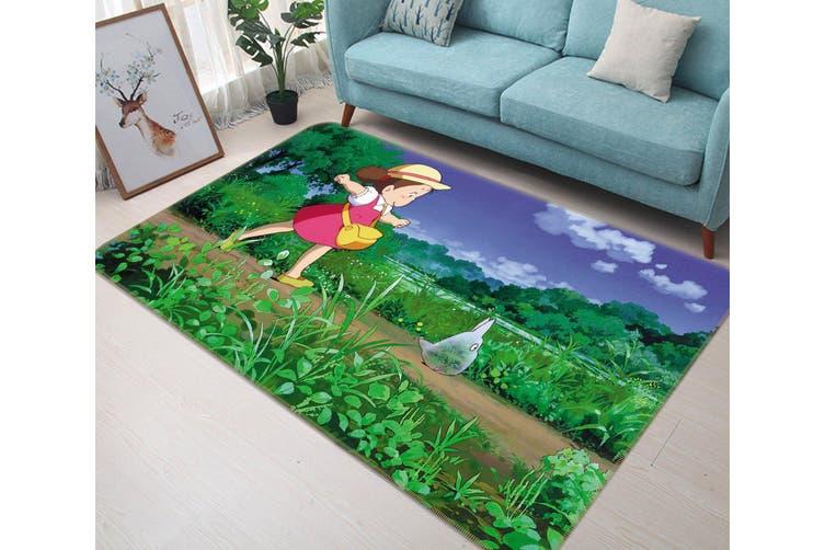 "3D My Neighbor Totoro 394 Anime Non Slip Rug Mat, 160cmx240cm (63""x94.5"")"