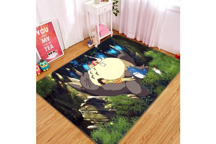 "3D My Neighbor Totoro 3620 Anime Non Slip Rug Mat, 160cmx240cm (63""x94.5"")"