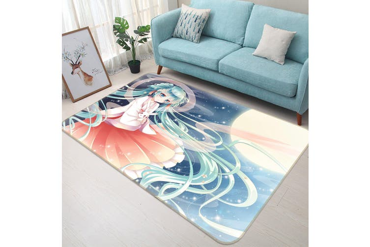 "3D Hatsune Miku 327 Anime Non Slip Rug Mat, 120cmx180cm (47.2""x70.9"")"