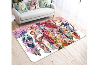 "3D Hatsune Miku 574 Anime Non Slip Rug Mat, 40cmx60cm (15.7""x23.6"")"