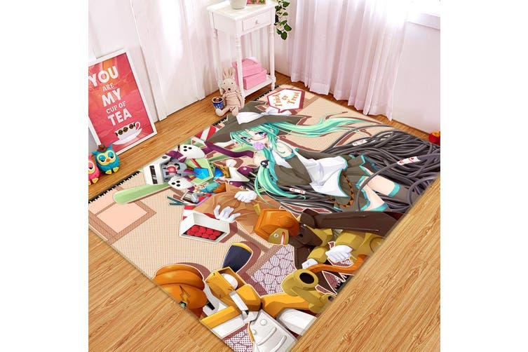 "3D Hatsune Miku 8622 Anime Non Slip Rug Mat, 80cmx120cm (31.4""x47.24"")"