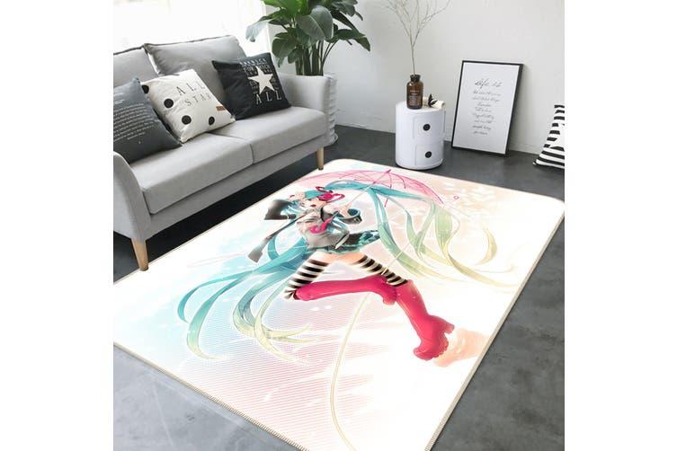 "3D Hatsune Miku 21 Anime Non Slip Rug Mat, 80cmx120cm (31.4""x47.24"")"