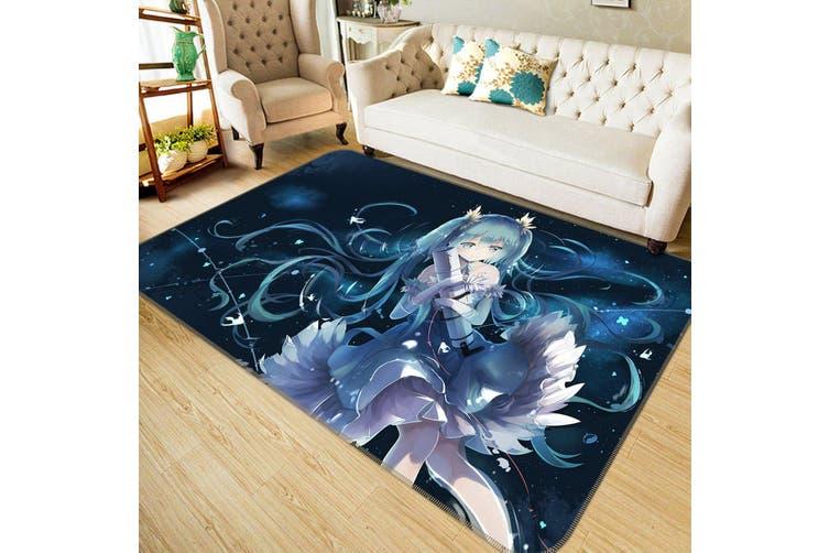 "3D Hatsune Miku 764 Anime Non Slip Rug Mat, 160cmx240cm (63""x94.5"")"