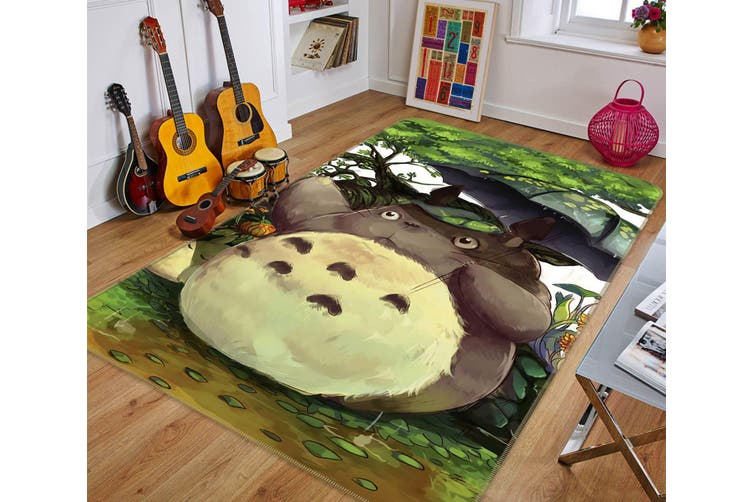"3D My Neighbor Totoro 594 Anime Non Slip Rug Mat, 140cmx200cm (55.1""x78.8"")"