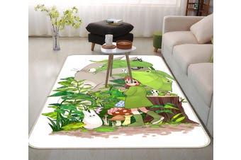 "3D My Neighbor Totoro 885 Anime Non Slip Rug Mat, 60cmx90cm (23.6""x35.4"")"