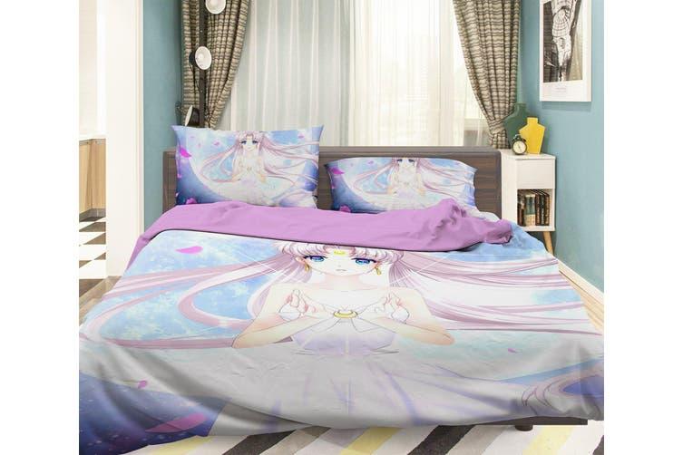 3d Sailor Moon 729 Anime Bed, Sailor Moon Bedding Queen