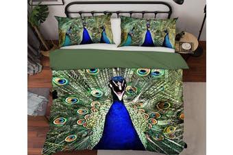 3D Peacock 1981 Bed Pillowcases Quilt Duvet Cover Bedding Set Quilt Cover Quilt Duvet Cover