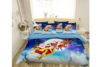 3D Christmas Goodbye 167 Bed Pillowcases Quilt Duvet Cover Bedding Set Quilt Cover Quilt Duvet Cover, Queen