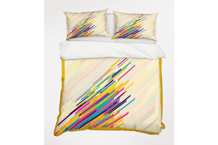 3D Color Line 069 Bed Pillowcases Quilt Duvet Cover Bedding Set Quilt Cover Quilt Duvet Cover, Queen