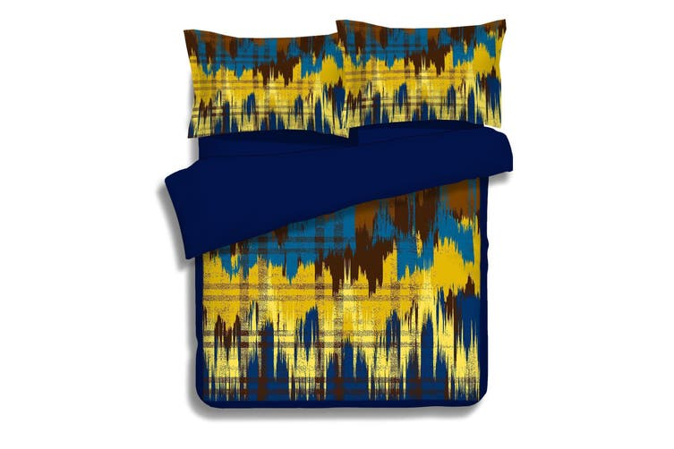 3D Wave Line 0632 Bed Pillowcases Quilt Duvet Cover Bedding Set Quilt Cover Quilt Duvet Cover, King Single