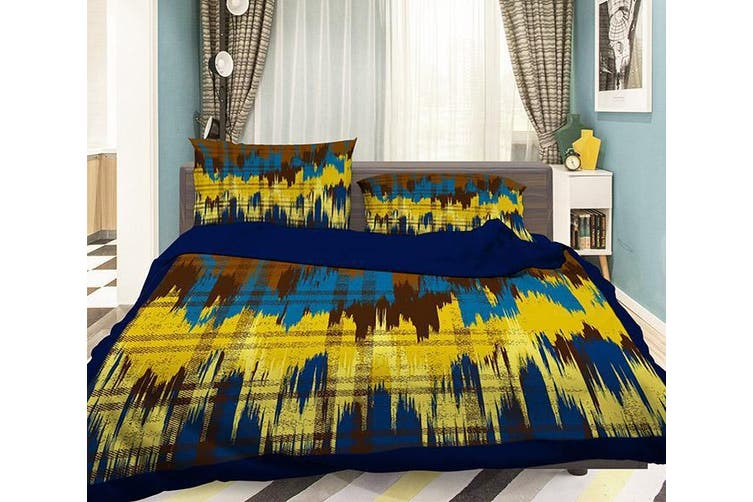 3D Wave Line 0632 Bed Pillowcases Quilt Duvet Cover Bedding Set Quilt Cover Quilt Duvet Cover, King