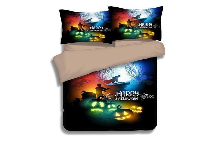 3D Wolf Called 050 Bed Pillowcases Quilt Duvet Cover Bedding Set Quilt Cover Quilt Duvet Cover, King Single